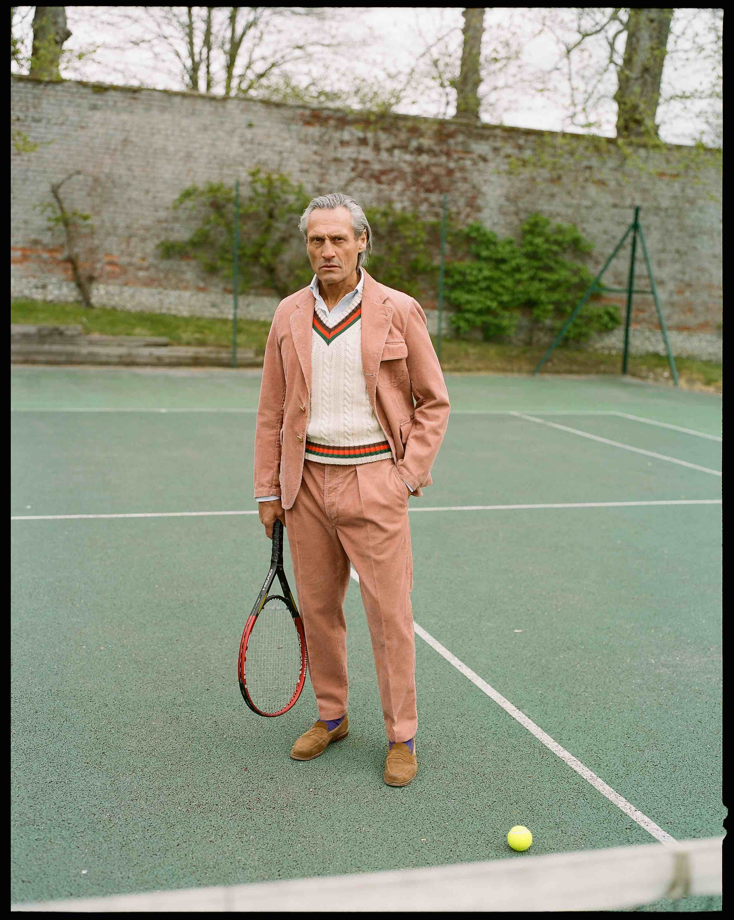 The Rose Cord Mk. IV Games Suit and Cricket Jumper
