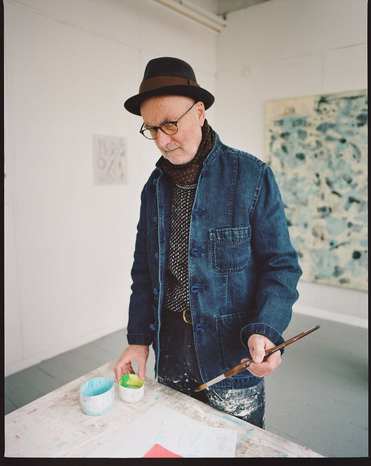 The Artist Chore Jacket, Featuring Clive Hodgson