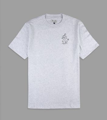 Aimé Leon Dore for Drake's Grey Cotton T-Shirt