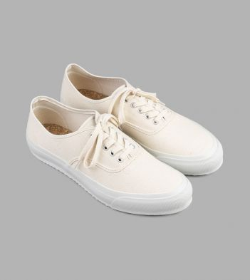 Doek Ecru Canvas Oxford Trainers