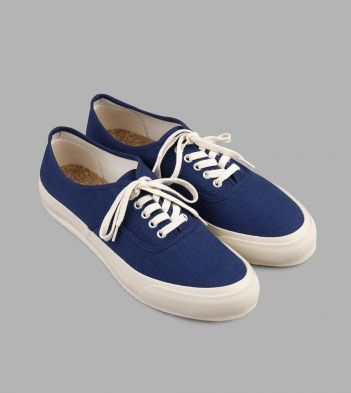 Doek Indigo Canvas Oxford Trainers