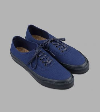 Doek Double Indigo Canvas Oxford Trainers