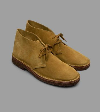 Desert Boot Whiskey Suede