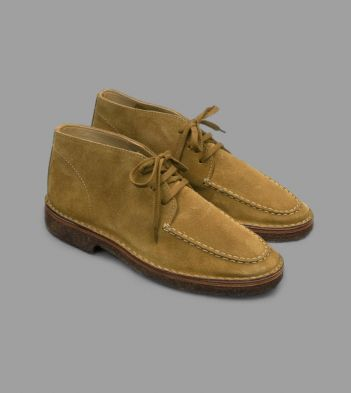 Moc-Toe Chukka Boot Whiskey Suede