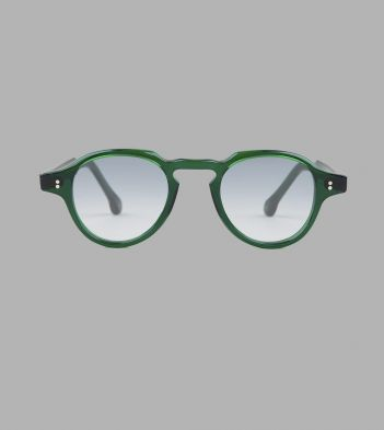 Bottle Green Acetate Blake Sunglasses