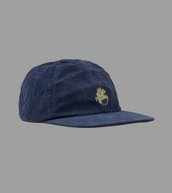 Aimé Leon Dore for Drake's Navy Cotton Baseball Cap