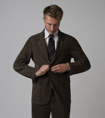 Brown Corduroy Games Blazer Mk. I