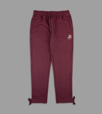 Aimé Leon Dore for Drake's Burgundy 20oz Terry Cotton Drawstring Sweatpants