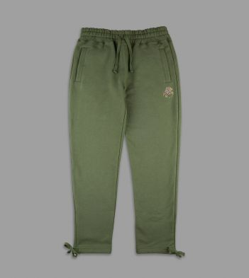 Aimé Leon Dore for Drake'sGreen 20oz Terry Cotton Drawstring Sweatpants
