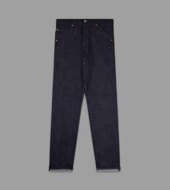 Indigo Rinse 14.2oz Japanese Selvedge Denim Five-Pocket Jeans
