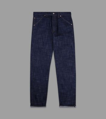 Stone Wash 14.2oz Japanese Selvedge Denim Five-Pocket Jeans