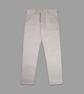 Stone Japanese Bedford Corduroy Five-Pocket Trousers